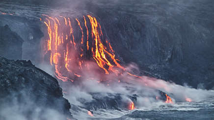 volcan lave