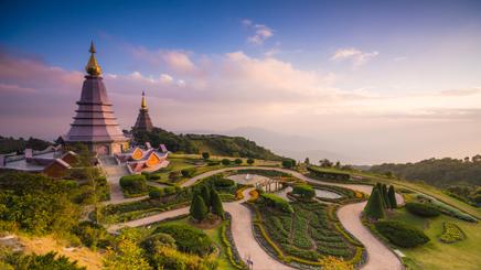 Thailande Chiang Mai Doi Inthanon
