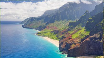 USA Hawai Kauia Parc plage