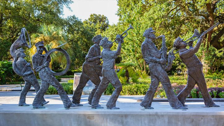Statue musique