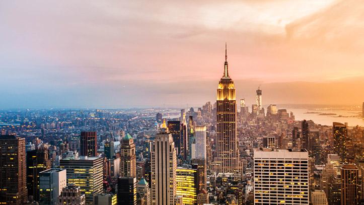 New York Building Skyline