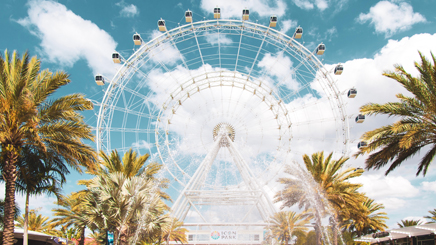 USA Orlando attraction roue palmier