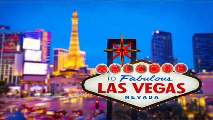 Las Vegas nuit lumiere